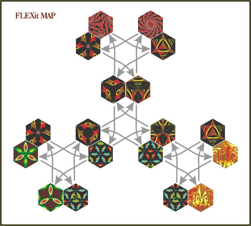 my flexagon